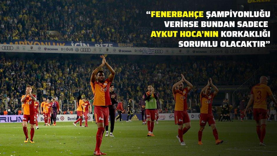"""""""Galatasaray muhtemelen şampiyonluğun en önemli adayı..."""""""