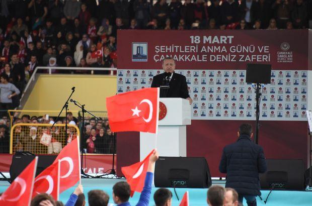 SON DAKİKA! Cumhurbaşkanı Erdoğan: Afrin şehir merkezi 08:30'da kontrol altına alındı