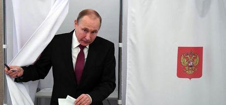 Son dakika... Rusya'da başkanlık seçimini Putin kazandı