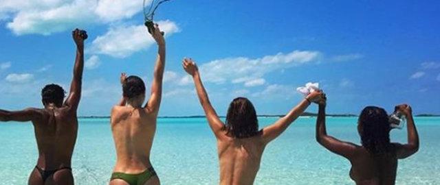 Bella Hadid'in paylaşımı sosyal medyayı salladı - Magazin haberleri