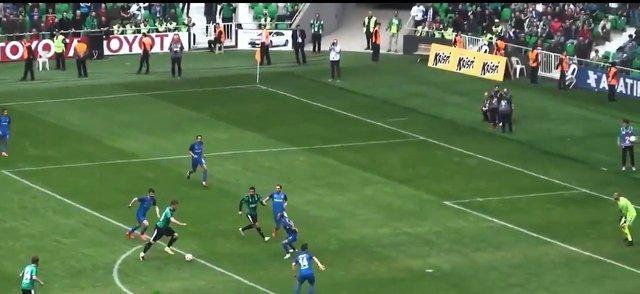 Batuhan Karadeniz'in Sakaryaspor Altay maçındaki görüntüsü gündeme oturdu!