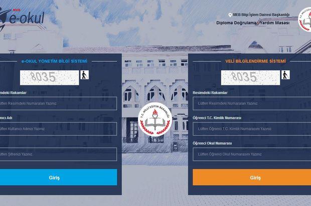 e-Okul giriş nasıl yapılır? e-Okul Veli Bilgilendirme Sistemi (VBS) giriş ekranı