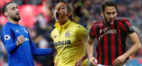 Enes Ünal, Cenk Tosun, Hakan Çalhanoğlu gol attı, Villarreal, Everton ve Milan kazandı!