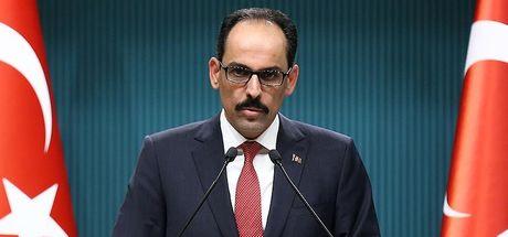 Cumhurbaşkanlığı Sözcüsü İbrahim Kalın'dan Afrin değerlendirmesi