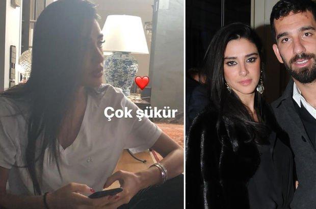 Arda Turan'dan aşk dolu paylaşım
