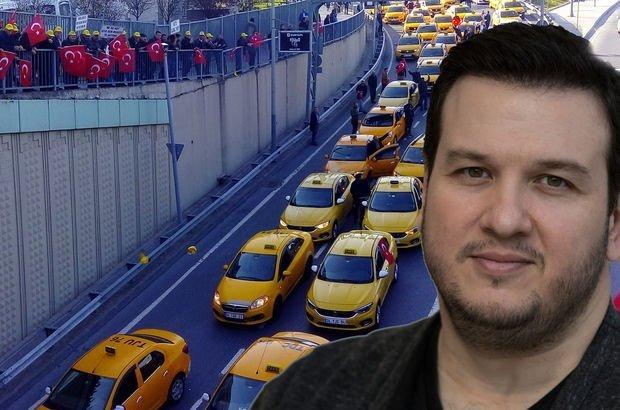 Uber - sarı taksi tartışmasına Şahan da dahil oldu