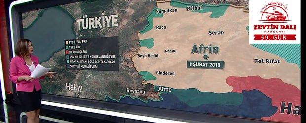 Cumhurbaşkanı Erdoğan, Afrin'de son sayıyı açıkladı