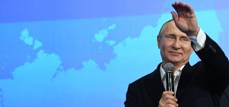 Seçimden büyük zaferle çıkan Putin'den dünyaya mesajlar!