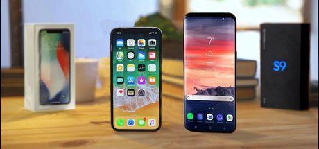 iPhone X ve Galaxy S9+'ın maliyetleri hesaplandı
