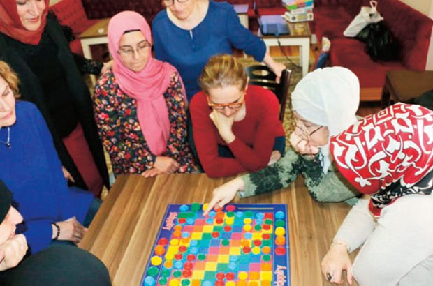 Kadınlara zekâ ve akıl oyunları kursu!