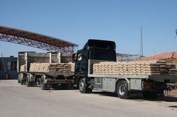Hava durumu çimento ihracatını da etkiledi