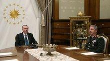 Cumhurbaşkanı Erdoğan, Org. Akar'ı kabul edecek