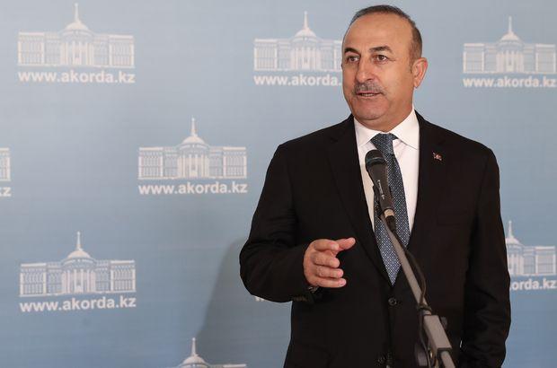 Çavuşoğlu'ndan ABD ziyareti hakkında açıklama!