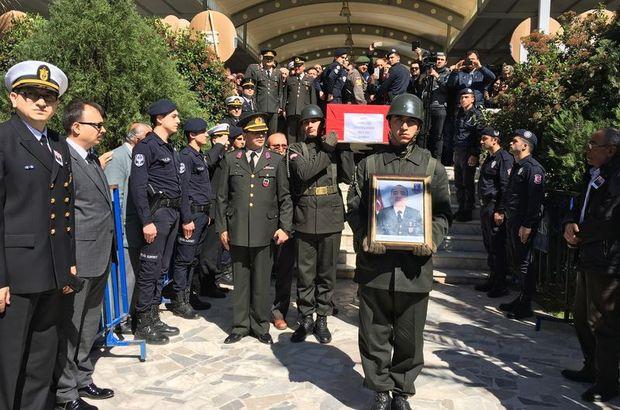 Diyarbakır'da şehit düşen Uzman Çavuş Sergen Çakmak son yolculuğuna uğurlandı