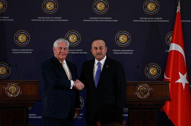 Son dakika... Dışişleri Bakanı Çavuşoğlu Tillerson ile görüştü