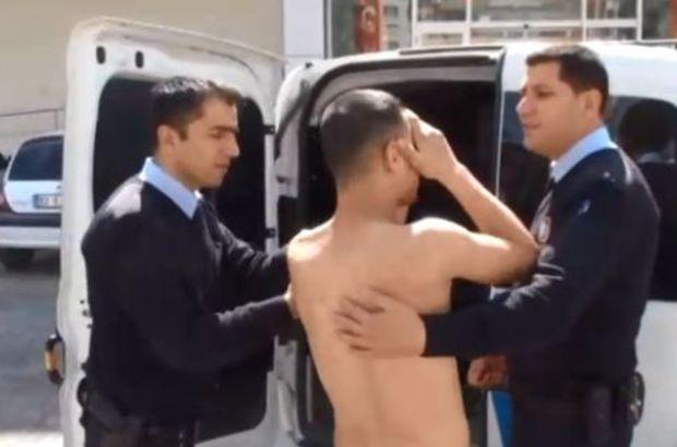 Hastaneden çıplak halde kaçtı! Polis Avm'de yakaladı