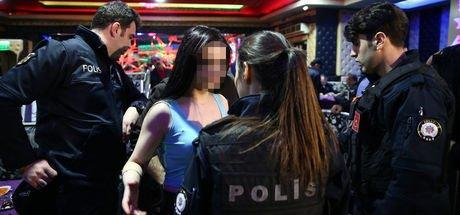 Ankara'da polis eğlence mekanlarını denetledi