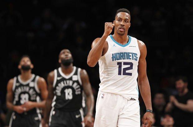 NBA'de flaş performans! Dwight Howard'tan 32 sayı 30 ribauntluk
