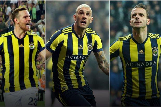Fenerbahçe'nin gol atamayan santrforları!
