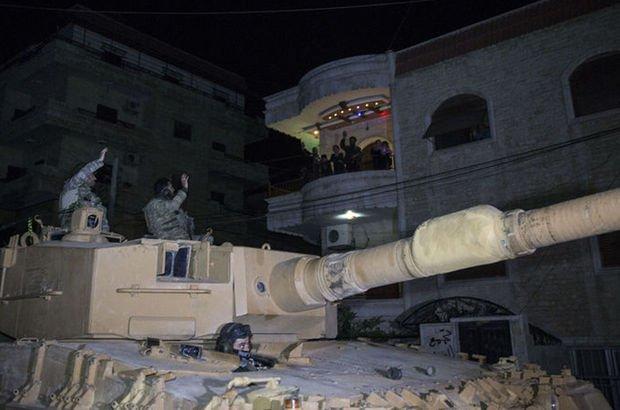 Mehmetçik'ten Afrin'de gece devriyesi!