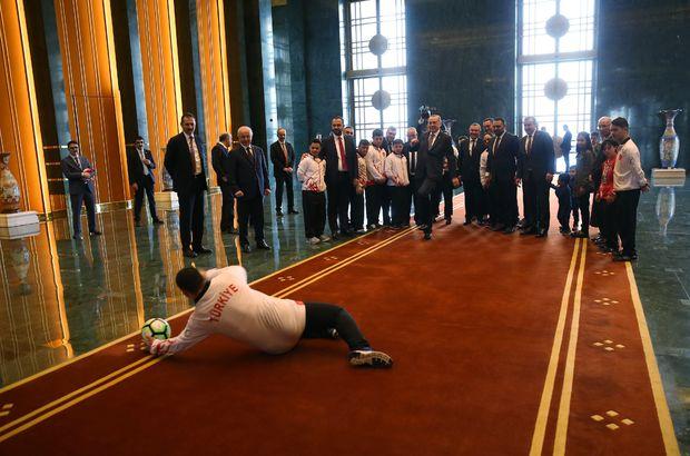 Cumhurbaşkanlığı Külliyesi'nde renkli görüntüler