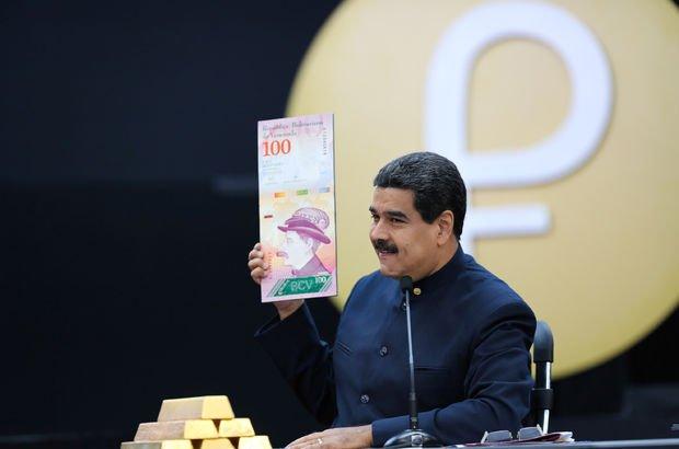 Ekonomik krizle boğuşan Venezuela paradan üç sıfır atıyor!