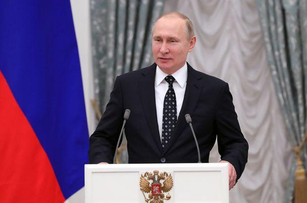 Putin'in kazandığı seçimin kesin sonuçları açıklandı