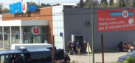 Fransa'da rehine krizi! Bir kişi hayatını kaybetti!