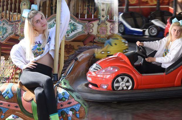 Aleyna Tilki test sürüşünde! - Magazin haberleri