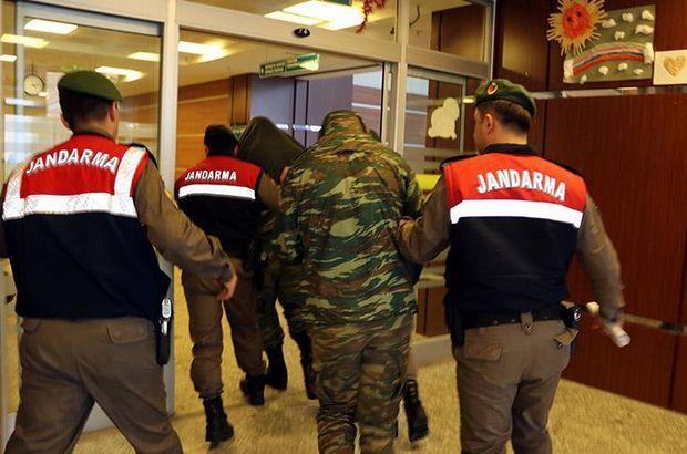 Yunanistan iki Yunan asker için AB'den destek arıyor! Güncel Haberler