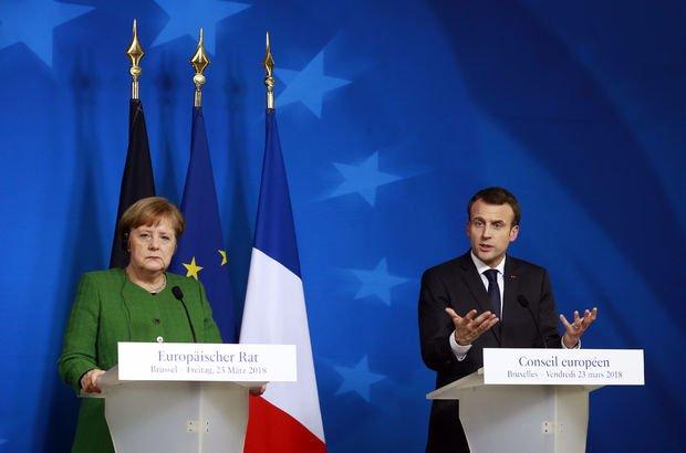 Fransa ve Almanya'dan Rusya'ya karşı sert adımlar! Dünya Haberleri