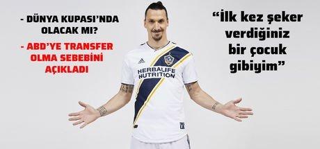 Zlatan Ibrahimovic yine iddialı: İstersem orada da oynarım