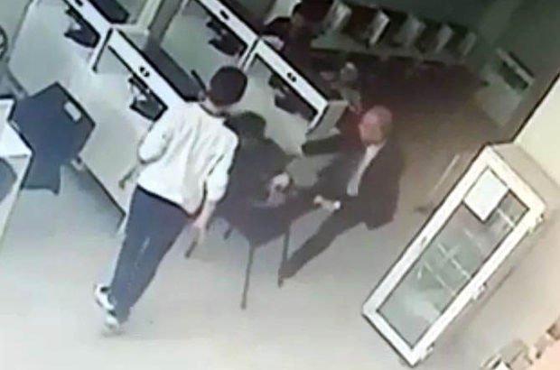 Kilis'te son dakika: Okulda sandığı oğlunu internet kafede bulan baba çılgına döndü!