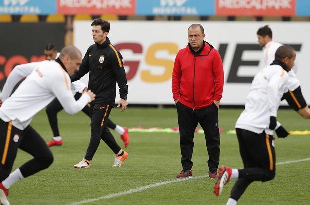Galatasaray'da Trabzonspor hazırlıkları devam etti