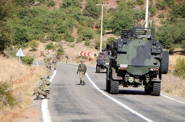 Pülümür Vadisi'nde teröristlerle çatışma!