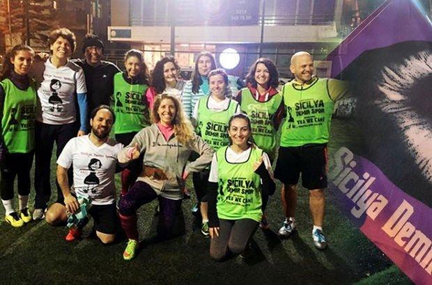 Sicilya Demir Spor: Kadın-erkek birlikte, 'iyi futbol' peşinde