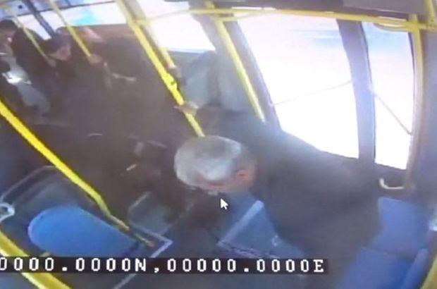 Gaziantep'te halk otobüsü şoförü yolcusunun hayatını kurtardı