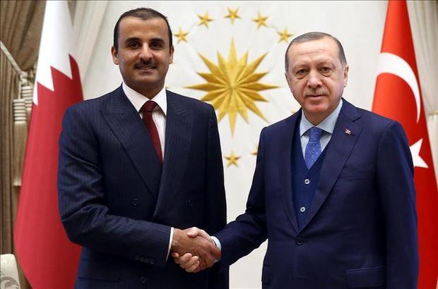 Son dakika... Cumhurbaşkanı Erdoğan Katar Emiri ile telefonda görüştü