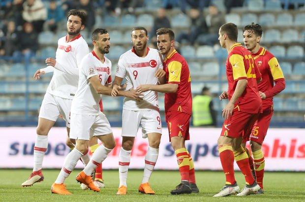 Karadağ: 2 Türkiye: 2 MAÇ ÖZETİ (Milli maç özeti)