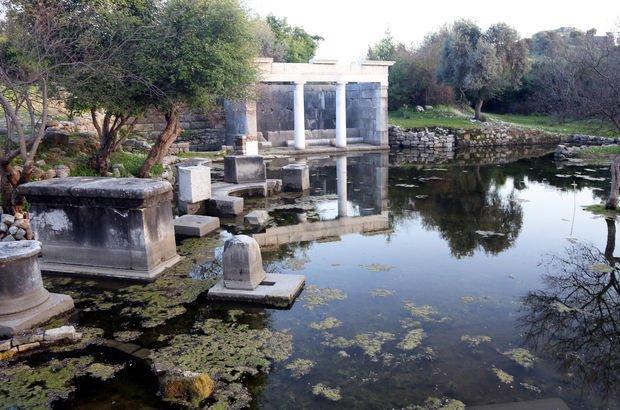 Kaunos'ta 3 bin yıl öncesine yolculuk! Ziyaretçileri büyülüyor