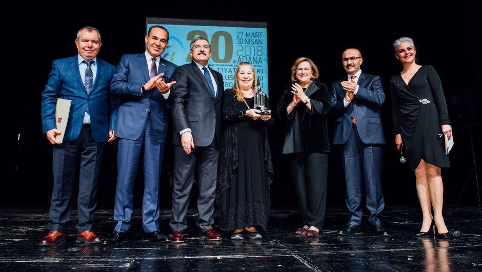 Sakıp Sabancı Yaşam Boyu Başarı Ödülü, Ayla Algan'ın!