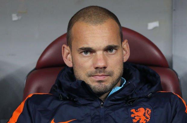 Sneijder'den Eskişehirsporlu küçük dev adama videolu mesaj!