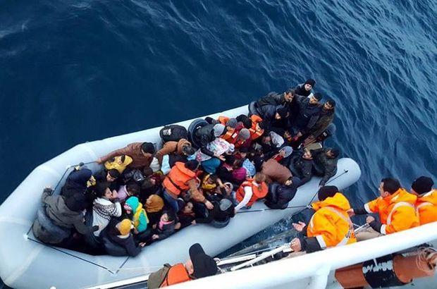 Yasa dışı yollardan Yunanistan'a geçmeye çalışan 483 göçmen yakalandı