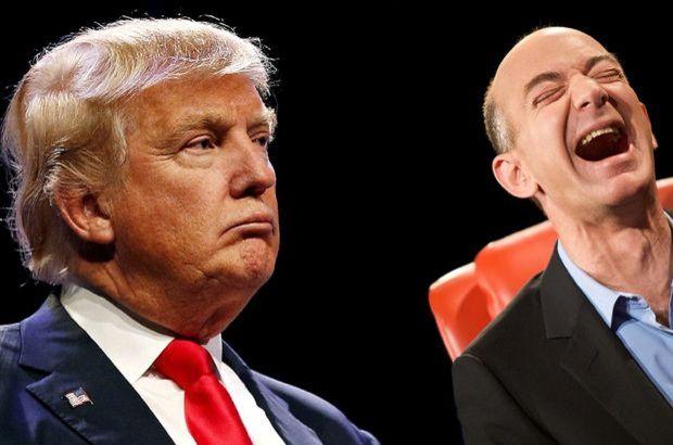 Trump'ın, Amazon'un