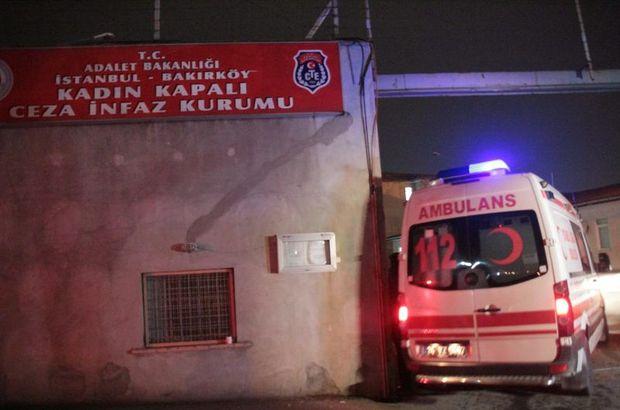 Bakırköy Kadın Kapalı Cezevi'nde silah sesleri