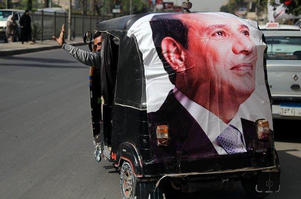 Mısır'daki ilk seçim sonuçlarına göre Sisi büyük farkla önde