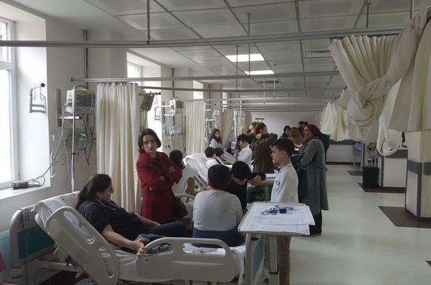 Son dakika:Trabzon'da öğretmen ve öğrenciler hastanelik oldu!