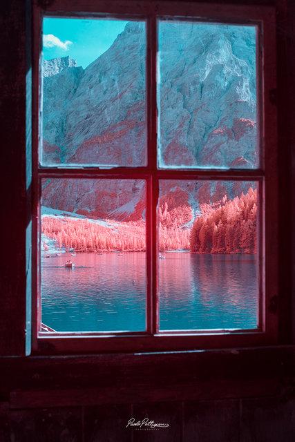 Paolo Pettigiani kızılötesi fotoğraflarıyla büyülüyor