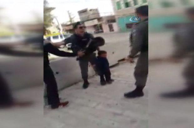 İsrail askerlerinden 3 yaşındaki çocuğa gözaltı tehdidi!