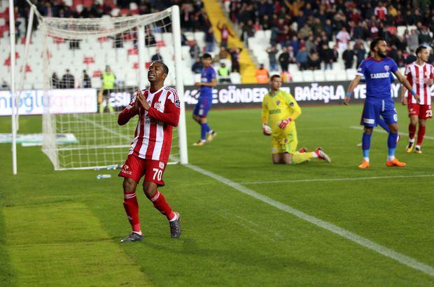 Sivasspor: 1 - Karabükspor: 0 | MAÇ ÖZETİ